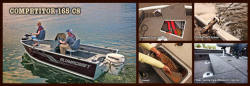 2013 - Alumacraft Boats - Competitor 165 CS