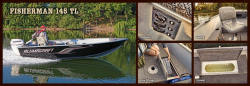 2013 - Alumacraft Boats - Fisherman 145