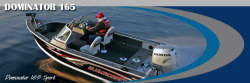 Alumacraft Boats Dominator 165 Sport Multi-Species Fishing Boat