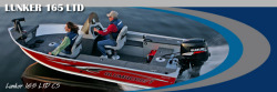 Alumacraft Boats Lunker 165 LTD CS Multi-Species Fishing Boat