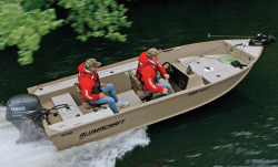 Alumacraft Boats Yukon 165 CS Multi-Species Fishing Boat
