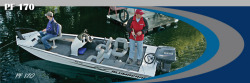 Alumacraft Boats PF170 Multi-Species Fishing Boat