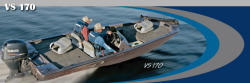 Alumacraft Boats VS170 Multi-Species Fishing Boat