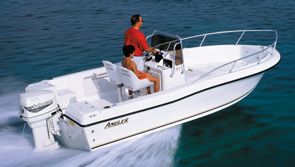 Research 2009 angler boats 180f on for Angler fishing boat