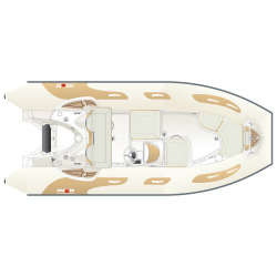 2020 - Avon Boats - Avon Seasport 490 Deluxe