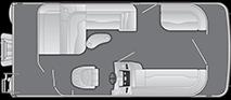 2021 - Bennington Boats - 20 SL
