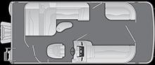 2021 - Bennington Boats - 20 SLM