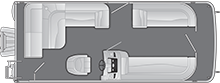 2021 - Bennington Boats - 218 SL