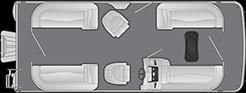 2021 - Bennington Boats - 22 SSR