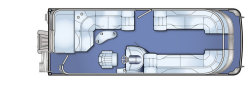 2009 - Bennington Boats - 2575QXi