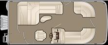 2018 - Bennington Boats - 20 SLMX