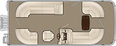 2018 - Bennington Boats - 21 SSRCX