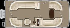 2018 - Bennington Boats - 21 SSRCXP