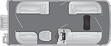 2020 - Bennington Boats - 20 SSR