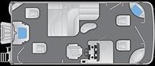 2021 - Bennington Boats - 21 SFXAPG