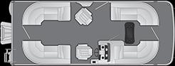 2021 - Bennington Boats - 22 SSRX