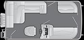 2021 - Bennington Boats - 168 SL