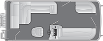 2021 - Bennington Boats - 208 SL