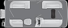 2021 - Bennington Boats - 20 SSR