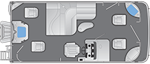 2021- Bennington Boats - 22SFX