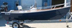 Blue Fin Boats Dory 15 Skiff Boat