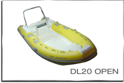 2020 - Caribe Inflatables - DL20 Open