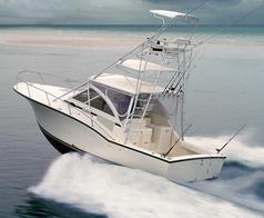Carolina Classic Boats 32- Inboard Convertible Fishing Boat