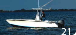 Contender Boats 21 Open Center Console Boat