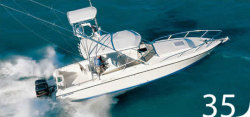 Contender Boats 35 Side Console Cuddy Cabin Boat