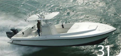 2008 - Contender Boats - 31 Cuddy