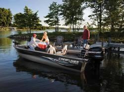2009 - Crestliner Boats - Fish Hawk 1750 SC