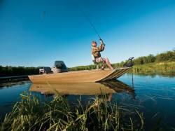 2009 - Crestliner Boats - Backwater 1655 SC