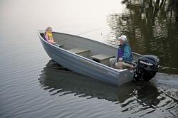 2011 - Crestliner Boats - Sportsman 14 Tiller