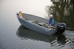2011 - Crestliner Boats - Sportsman 16 SS Tiller