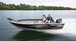 2012 - Crestliner Boats - 1650 Pro Tiller