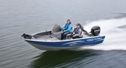 2012 - Crestliner Boats - Fish Hawk 1600 Tiller