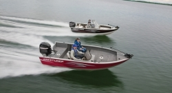 2012 - Crestliner Boats - Fish Hawk 1650 WT