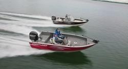 2012 - Crestliner Boats - Fish Hawk 1650 DC