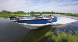 2012 - Crestliner Boats - Fish Hawk 1750 DC