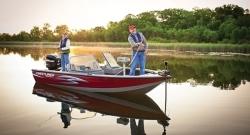2012 - Crestliner Boats - Fish Hawk 1850 DC