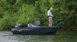 2012 - Crestliner Boats - Kodiak 16 Tiller