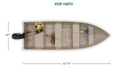2012 - Crestliner Boats - XCR 1457V