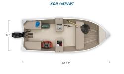 2012 - Crestliner Boats - XCR 1467 VWT