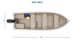 2012 - Crestliner Boats - XCR 1667V