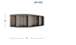 2012 - Crestliner Boats - CR Jons 1032