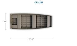 2012 - Crestliner Boats - CR Jons 1236