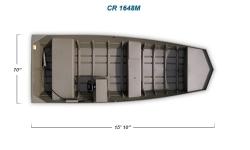 2012 - Crestliner Boats - CR Jons 1648M