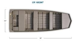 2012 - Crestliner Boats - CR 1852MT