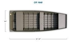 2012 - Crestliner Boats - CR Jons 1648MT