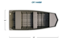 2012 - Crestliner Boats - CR 1448 M
